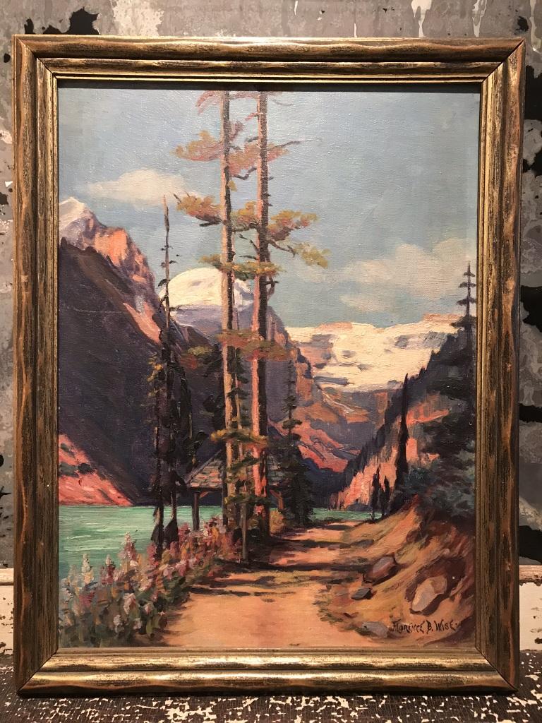 Inn at Lake Louise Painting