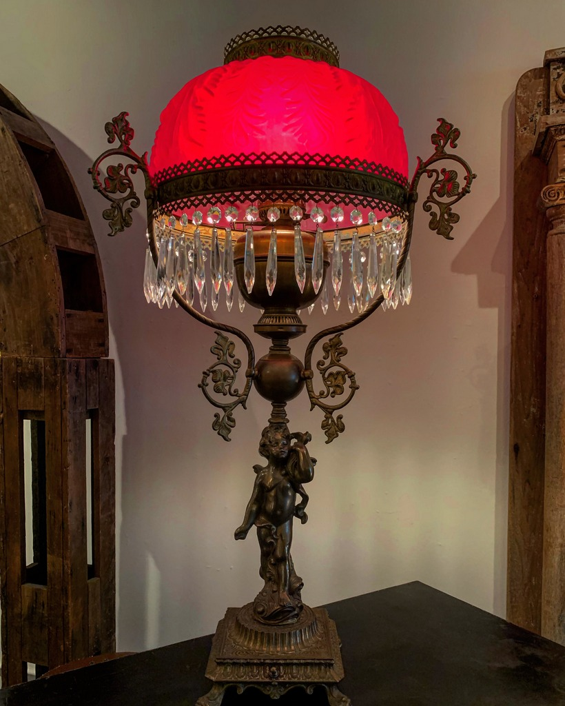 Victorian Table Lamp