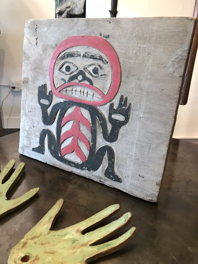 Native American Relief Carving