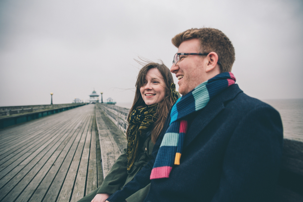 JAMES + ANNIKA CLEVEDON PIER PRESHOOT LOW-9.jpg