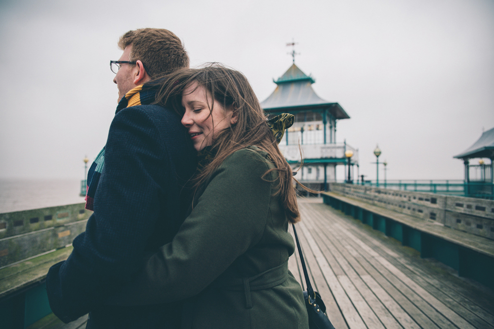 JAMES + ANNIKA CLEVEDON PIER PRESHOOT LOW-38.jpg