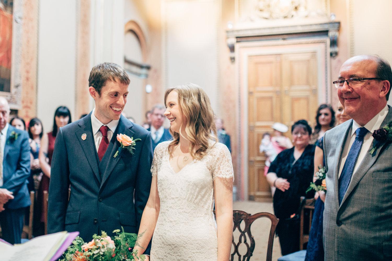 A stylish city wedding at St George\'s - Bristol // Chris + Jen ...