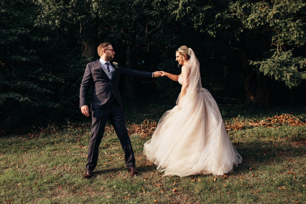 """""""Naomi really fitted into our wedding style.  She captured the day from beginning to end with some most beautiful natural shots.  We're still enjoying looking through all the photos and we'll treasure them forever. Thank you Naomi""""  Polly + Nathan - August 2018"""