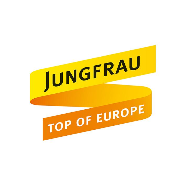 Jungfrau Logo redesign für Visu'l Agentur