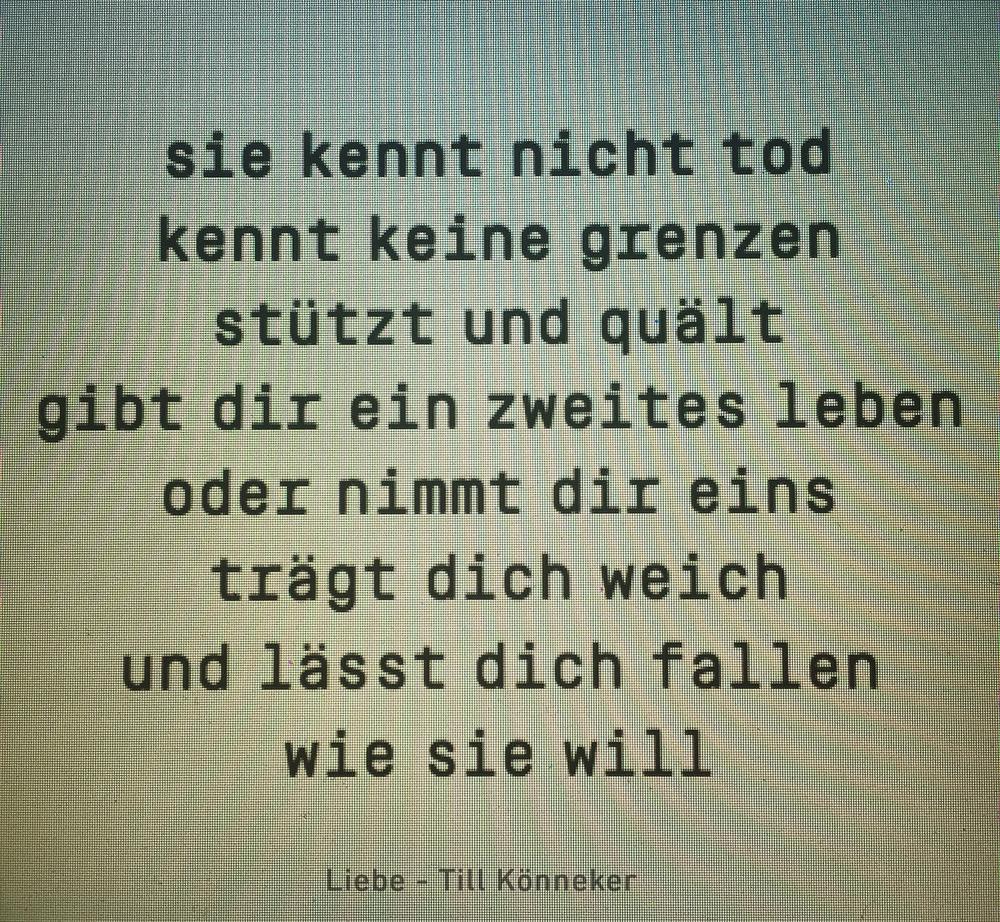 Liebe - Till Könneker