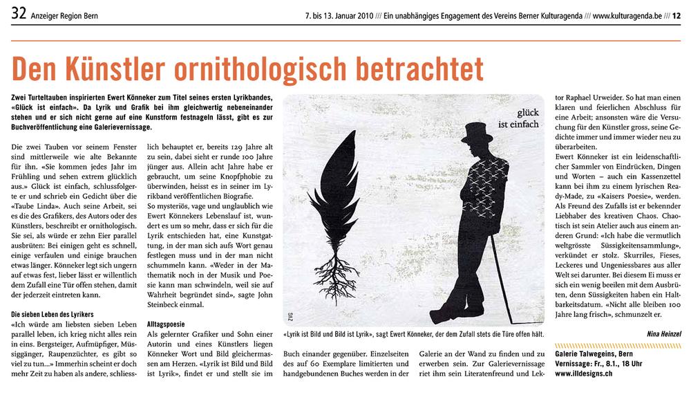 Artikel - Kulturagenda Bern