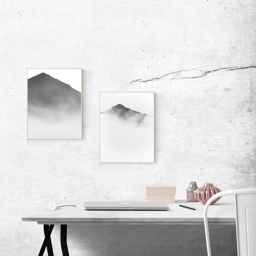 Fjallaplaköt • Mountain Posters