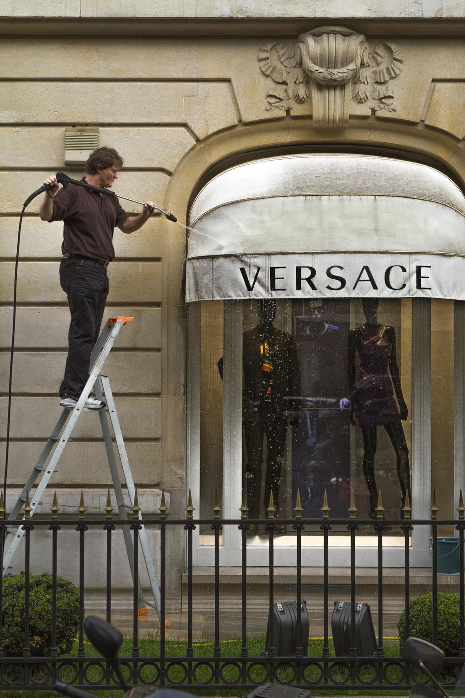 Versace Avenue Montaigne Boutique, Paris