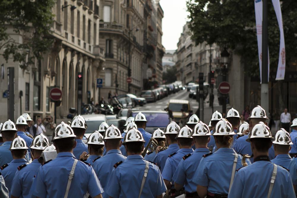 Champs-Élysées, Paris   La Troisième République Parade