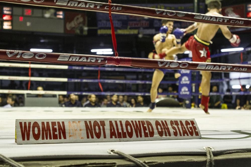 Bangkok   Muay Thai match