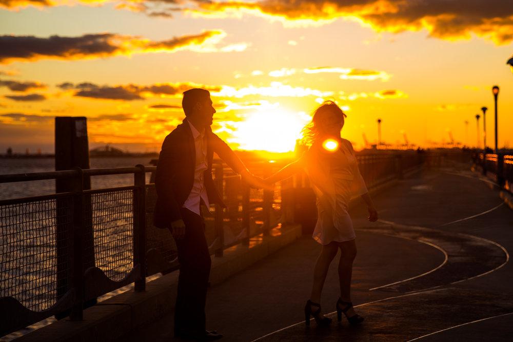 Stefania & Antonio - Red Hook