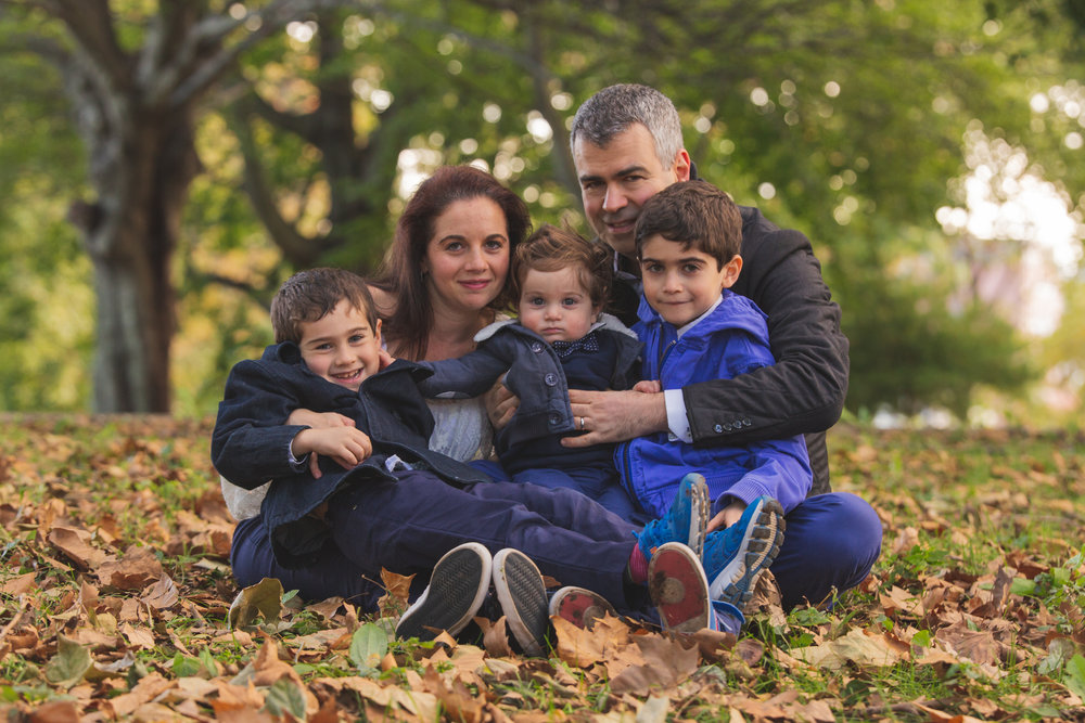 The Leibermans - Fall Family Session