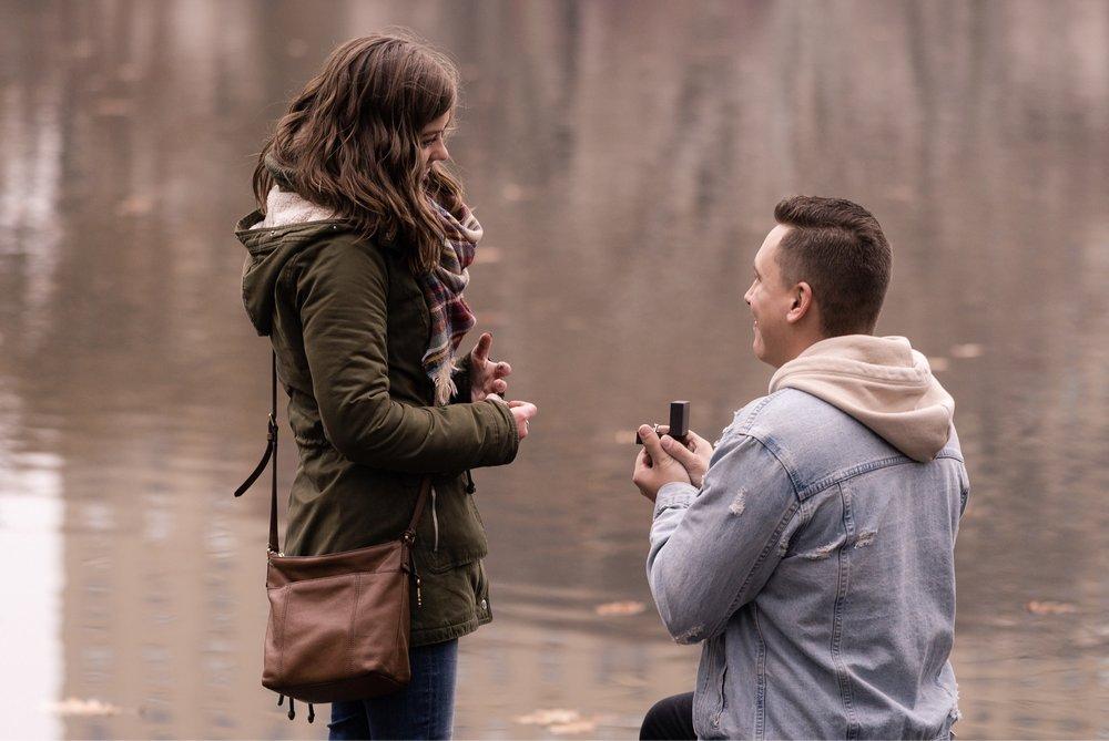 Chaz & Valerie - Central Park Proposal