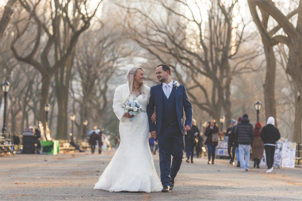 Lauren & Anthony - Central Park Elopement