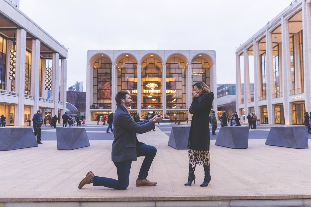 Kevin & Lexi - Lincoln Center Proposal