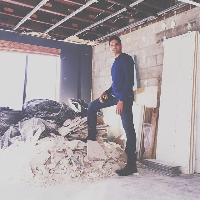 Happy bday to one of our owners @sandysdias. Starting 2018 strong with a couple of residential renovations.