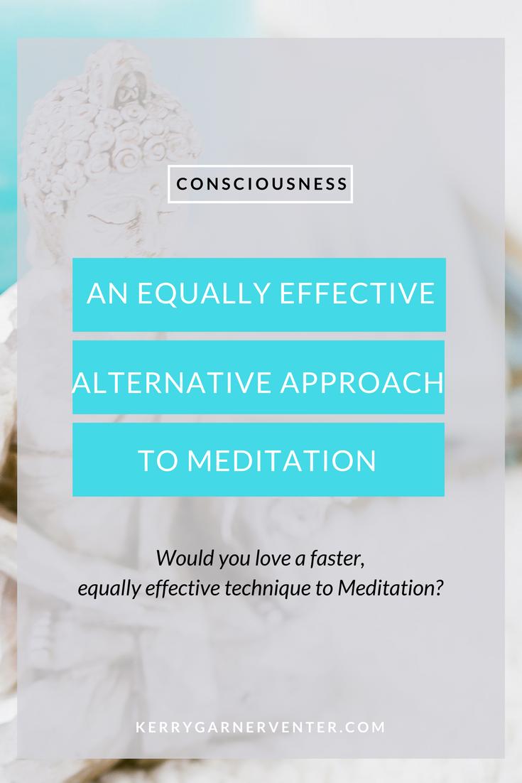 Equally effective alternative to meditation