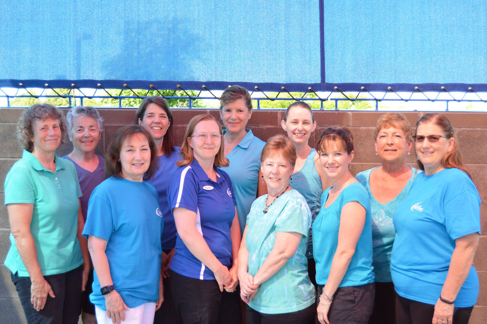 From left to right: (back row) shannon phipps, norma holliday, laura warr, martha johnson, lauren cornwell, shirley wodtli (front row) kathy perkins, kelli dunfee, lenita fryxell, jana gemmell, jone stout.  not pictured: patti hale