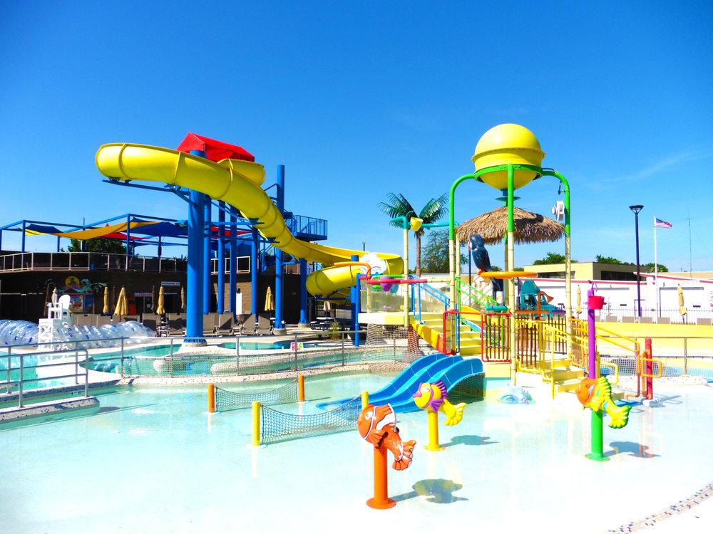 Splashdown Cove Water Park Tri City Court Club