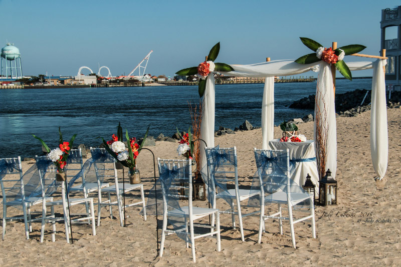Into The Blue   To A Lifetime Of Adventure    Beachcomber Ceremony Package