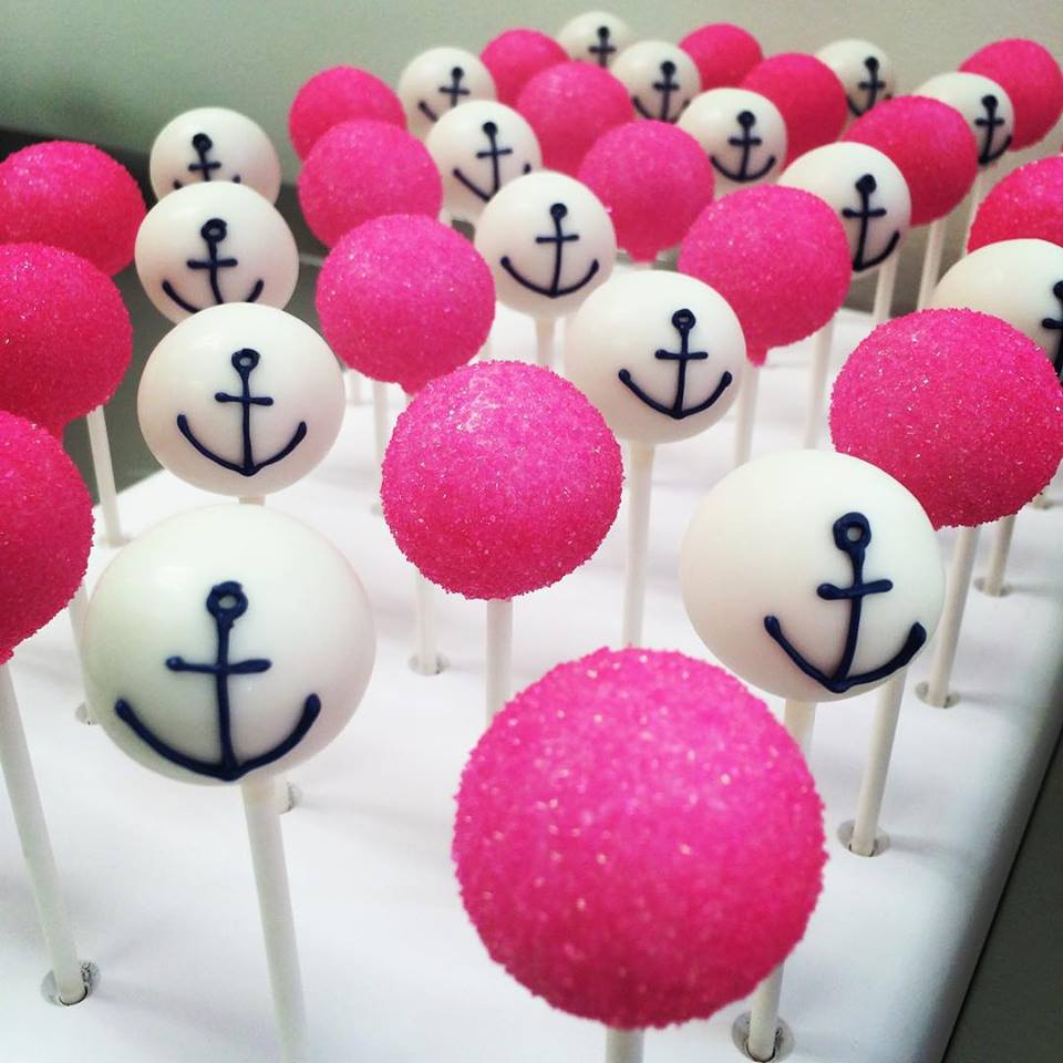 Cake pop by Theresa @sugarrush Nautical