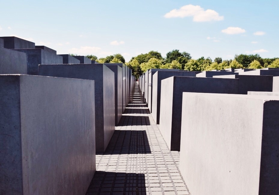 Holocaust Mahnmal- memorial for the 6 million European Jews murdered by the Nazis