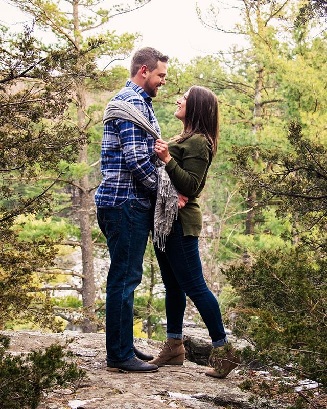 Awesome #engagement shoot in a beautiful place! Thanks to Dana and Tal for braving the cold! #victoryphotography