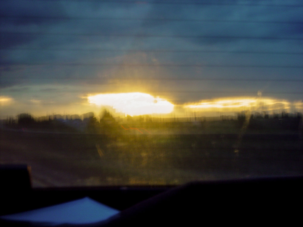 Sunrise from a Getaway Car, 2005