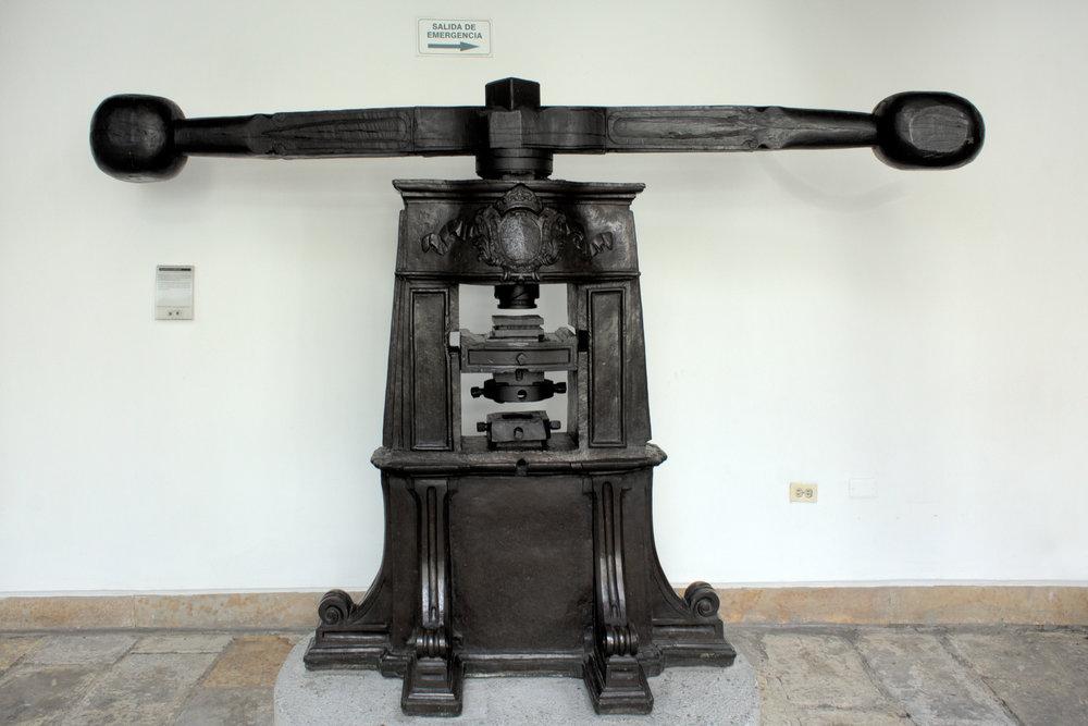 Mint Press, Bogotá, 2013