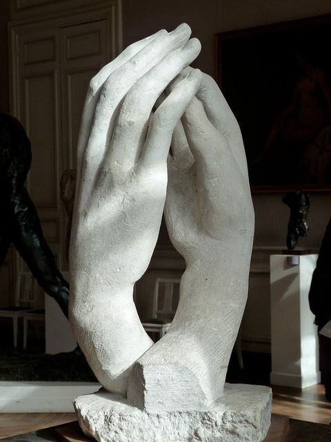 move-and-still :      The Cathedral - La Cathedrale by Auguste Rodin