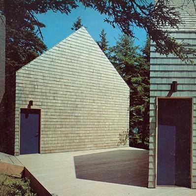blueberrymodern :     Mount Desert Island. Architect: Edward Larrabee Barnes 1976 - blueberrymodern instagram