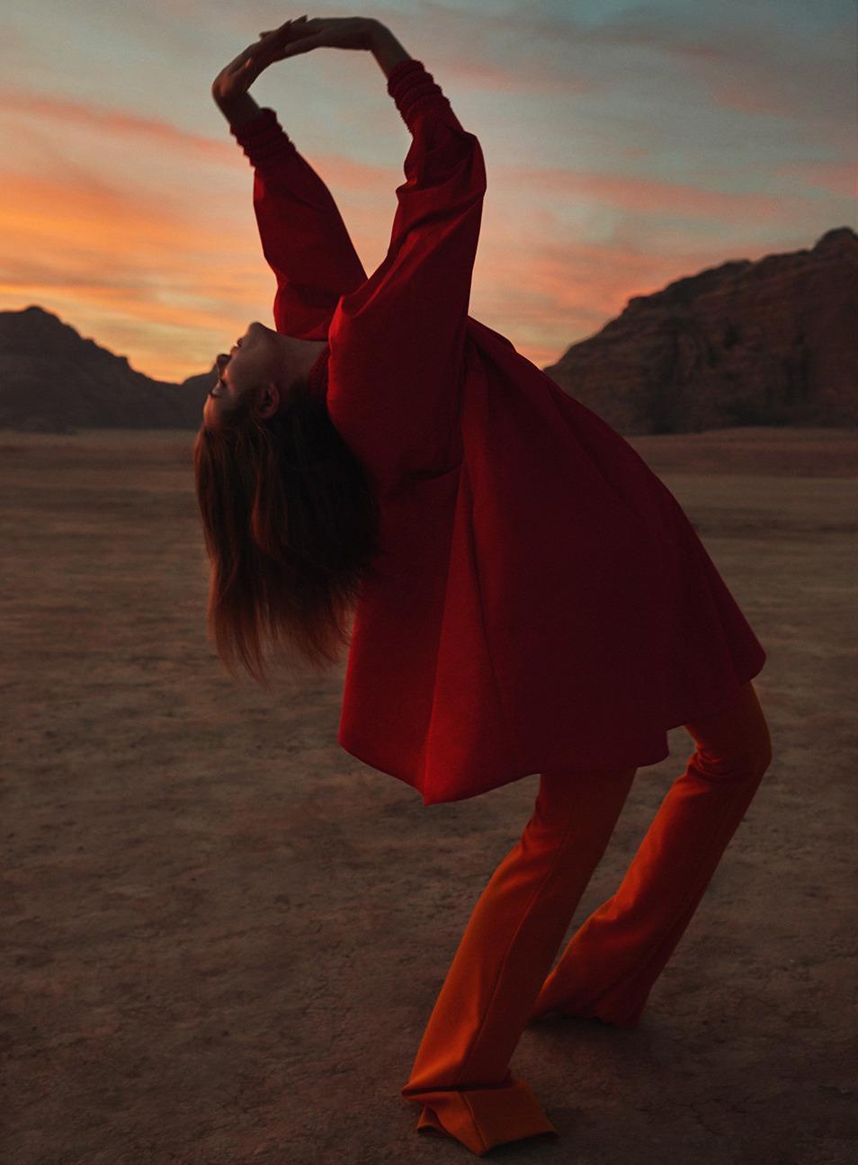athingcalledbliss :         Drop it like it's hot   shot by  Petrovsky & Ramone for Harper's Bazaar Netherlands March 2016