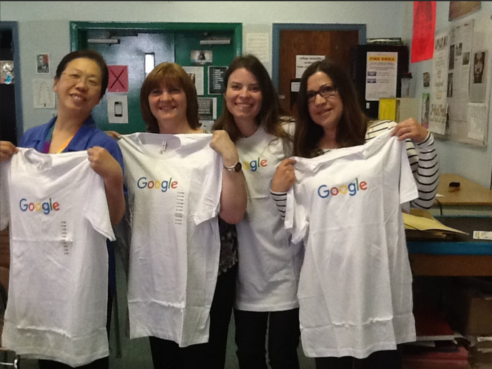 Part of the QNCHS Google Team...