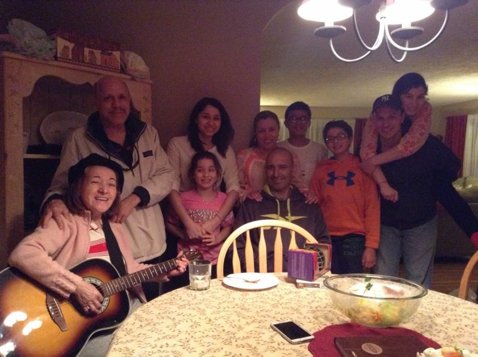 April 2015, Easter ~ Our last family gathering with Pablo Javier