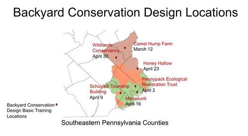 BACKYARD CONSERVATION DESIGN WITH NATIVE PLANTS BASIC TRAINING - Backyard conservation