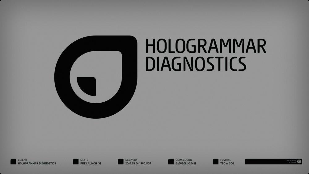Hologrammar Diagnostics | circa 2044