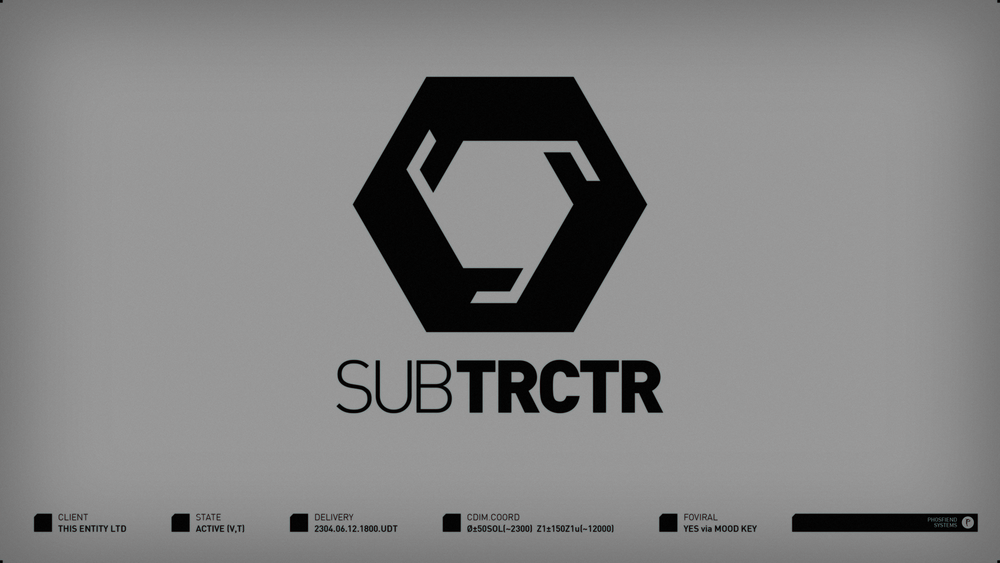 SUBTRCTR for This Entity Ltd | circa 2304
