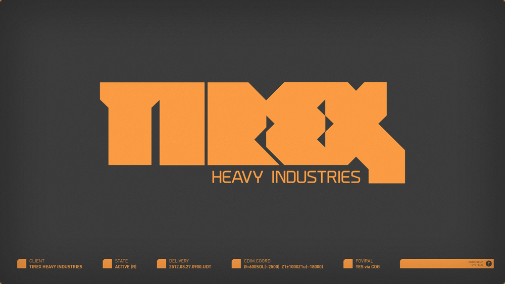 Tirex Heavy Industries | circa 2512