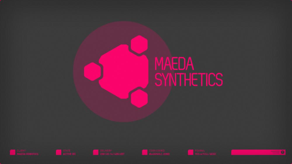 Maeda Synthetics | circa 2281