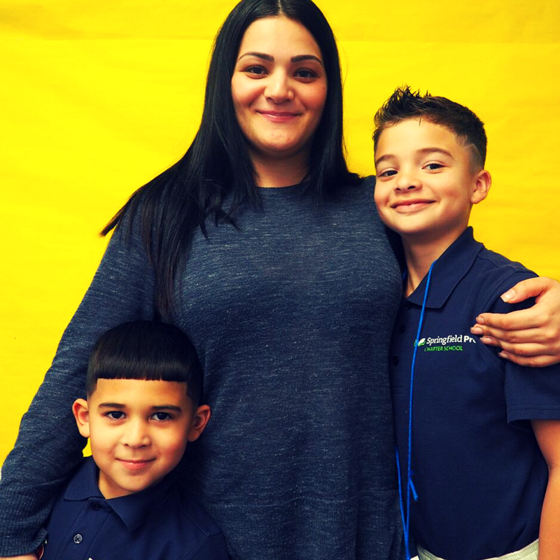 """Springfield Prep has changed our lives - it's helping me raise my kids.""  - #SpringfieldPrepFamily"