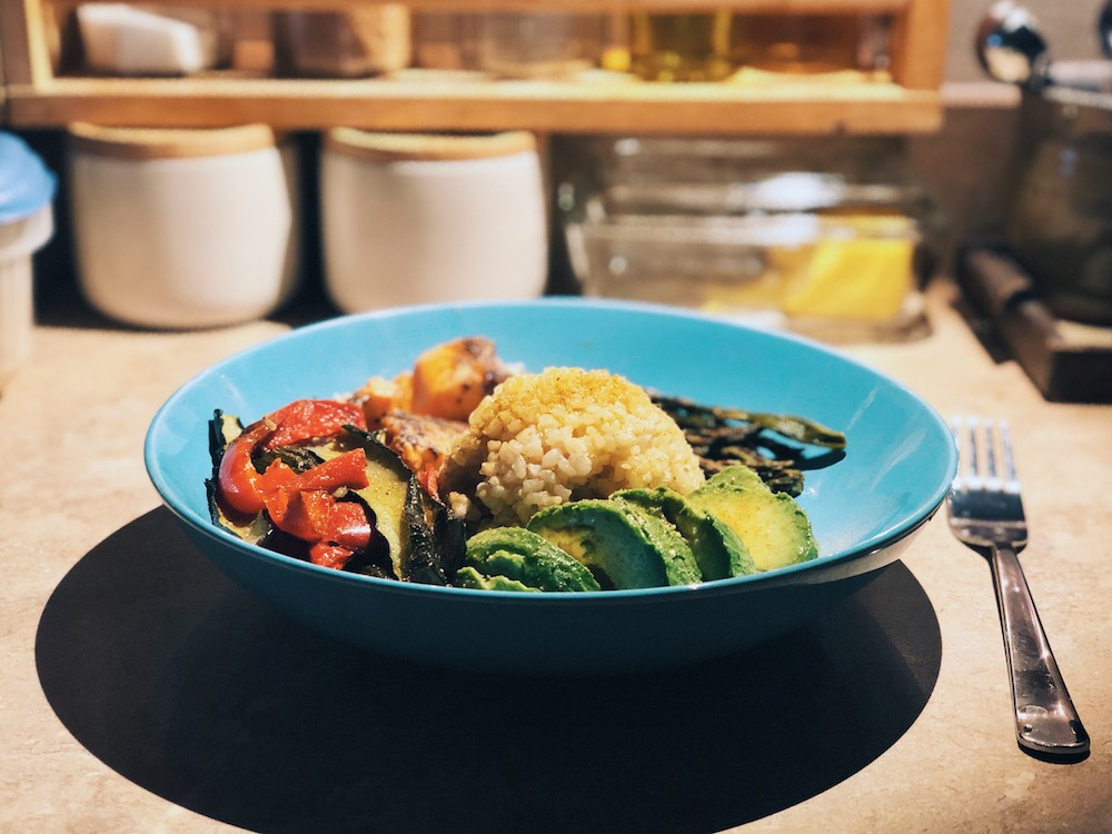 Veggie Avocado Rice Bowl・745 Cals・The Reluctant Cook