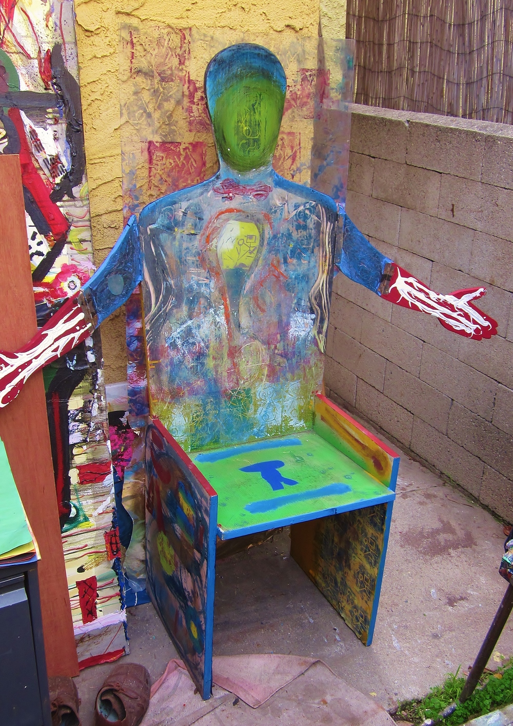 Hugging Chair (with John Harper)