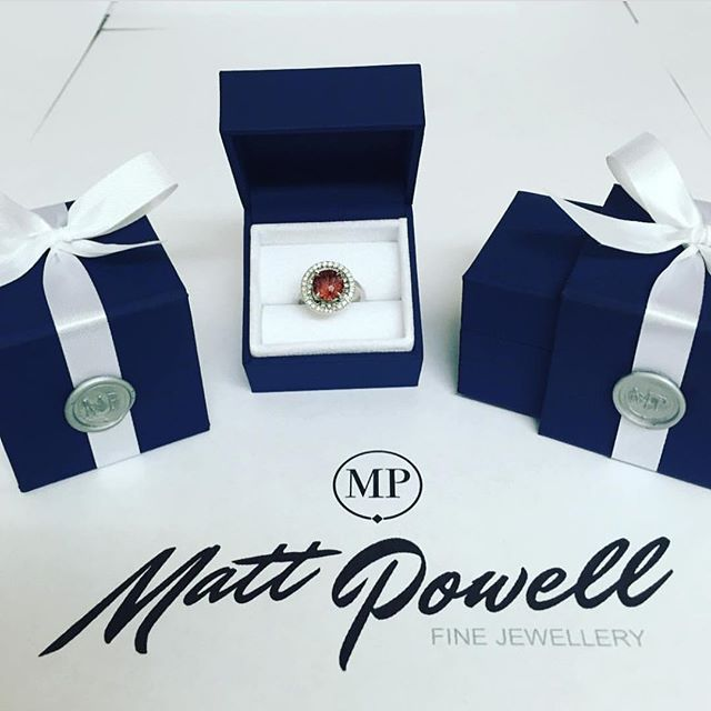 Each and every piece I hand-make is finished when it is safely and perfectly placed into its box and closed with my signature wax seal.  These are my chosen boxes which give a luxury feel to mirror the piece within.  #mattpowellfinejewellery #jewellery #finejewelry #finejewellery #ring #jewellerybox #jewelrydesigner #goldsmith #jotd #handmadejewellery #bespokejewellery #diamonds #waxseal #bow #ribbon #blue #boxes #luxury