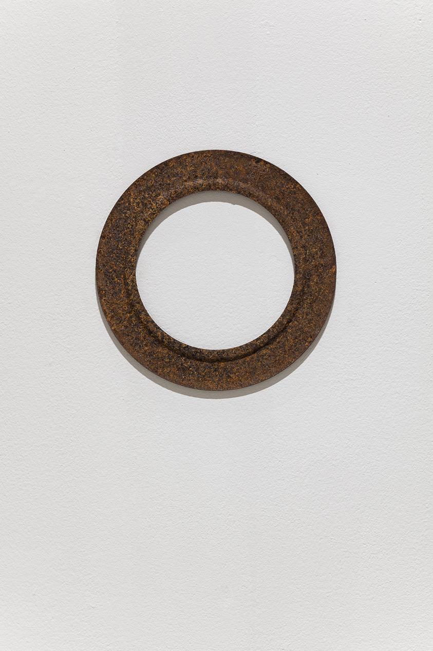 Molded Iron Circle, 2018