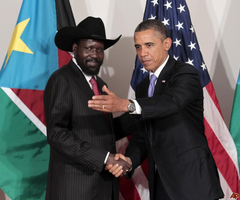 The United States can force Salva Kiir to sign a peace deal, but can't make him like it.