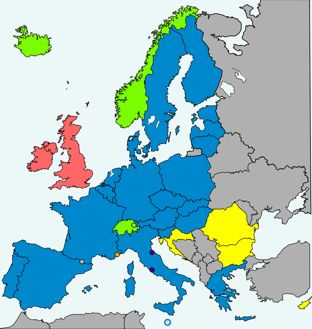 The Schengen Zone
