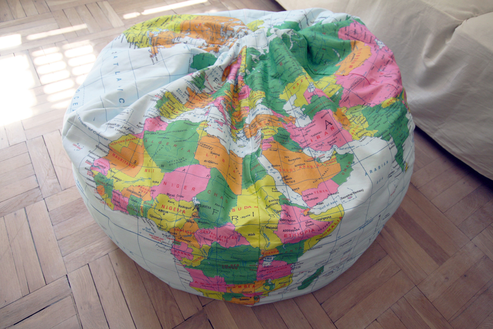 'The Atlas' Custom-Designed 100% Heavy Cotton Twill Beanbag Seat
