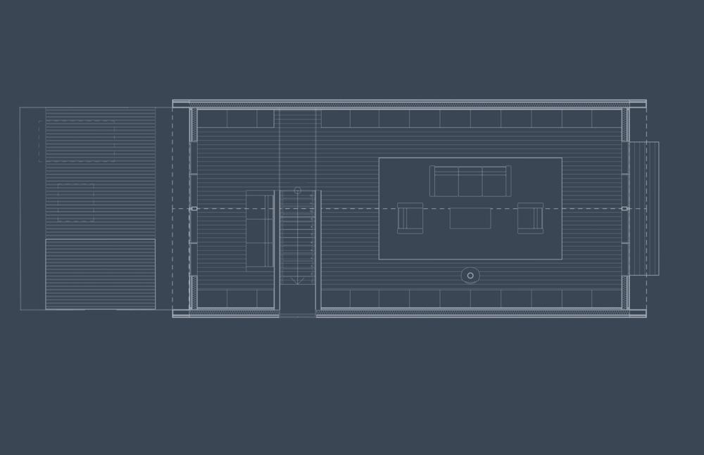 Carriage House Loft Floor Plan