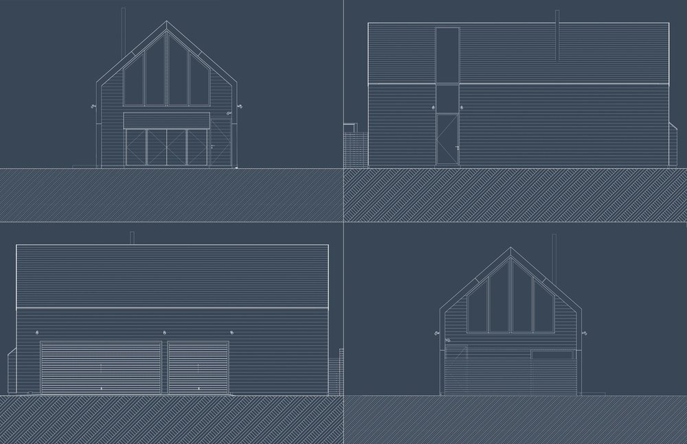 Carriage House Elevations