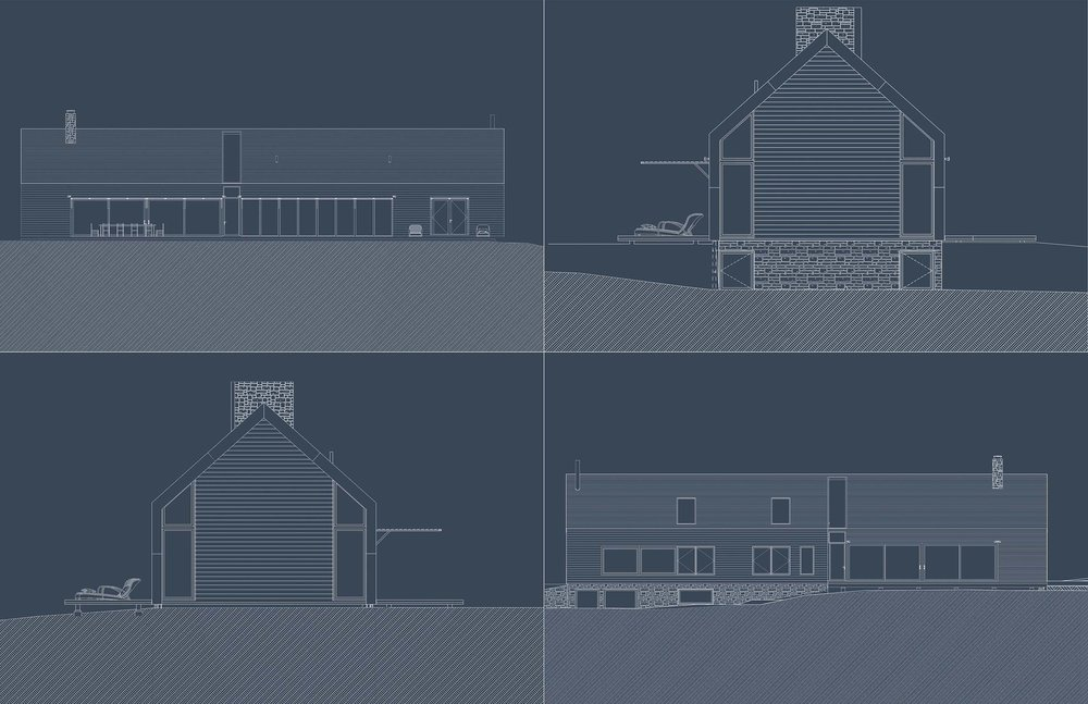 Mountain House - Elevations